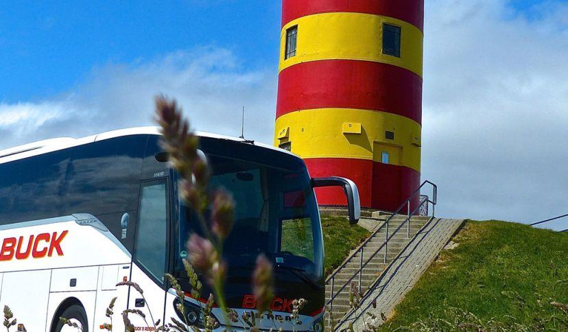 Lachbustour in der Krummhörn, © Touristik-GmbH Krummhörn Greetsiel