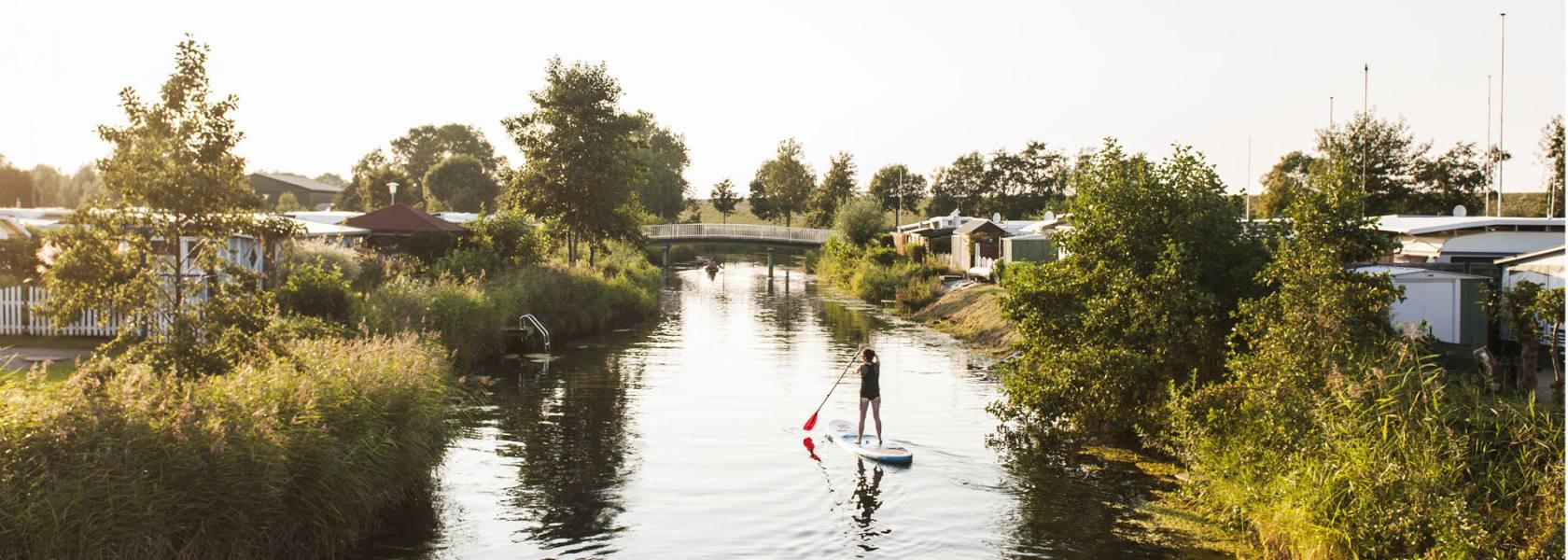 SUP in Otterndorf, © Florian Trykowski