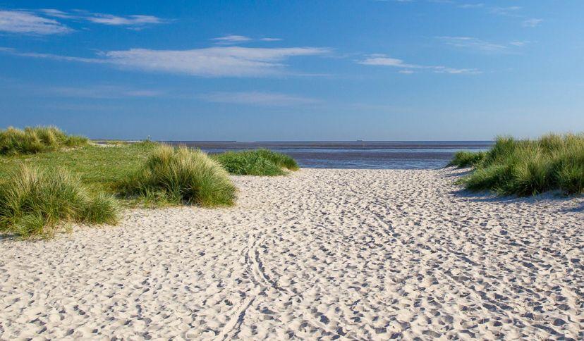 Strand in Schillig, © Wangerland Touristik GmbH