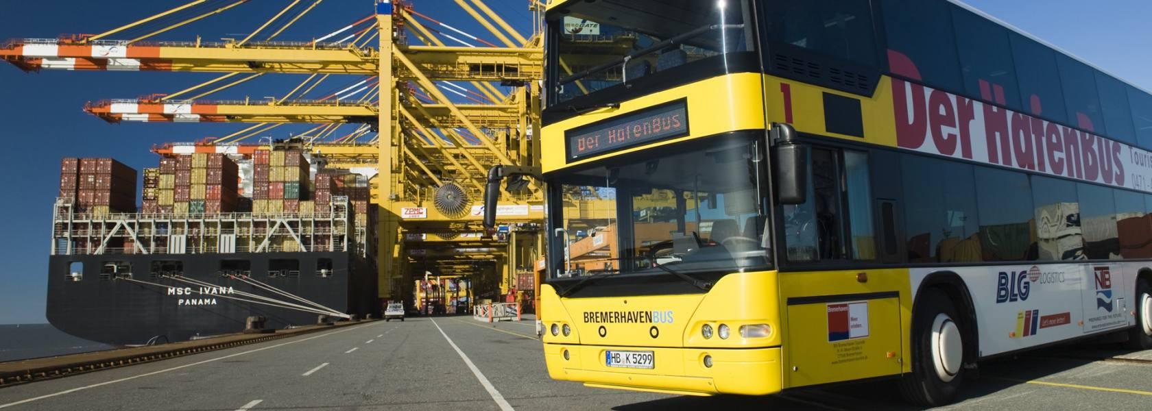Hafenbus Bremerhafen, © Markus-D. Abeling, Erlebnis Bremerhaven