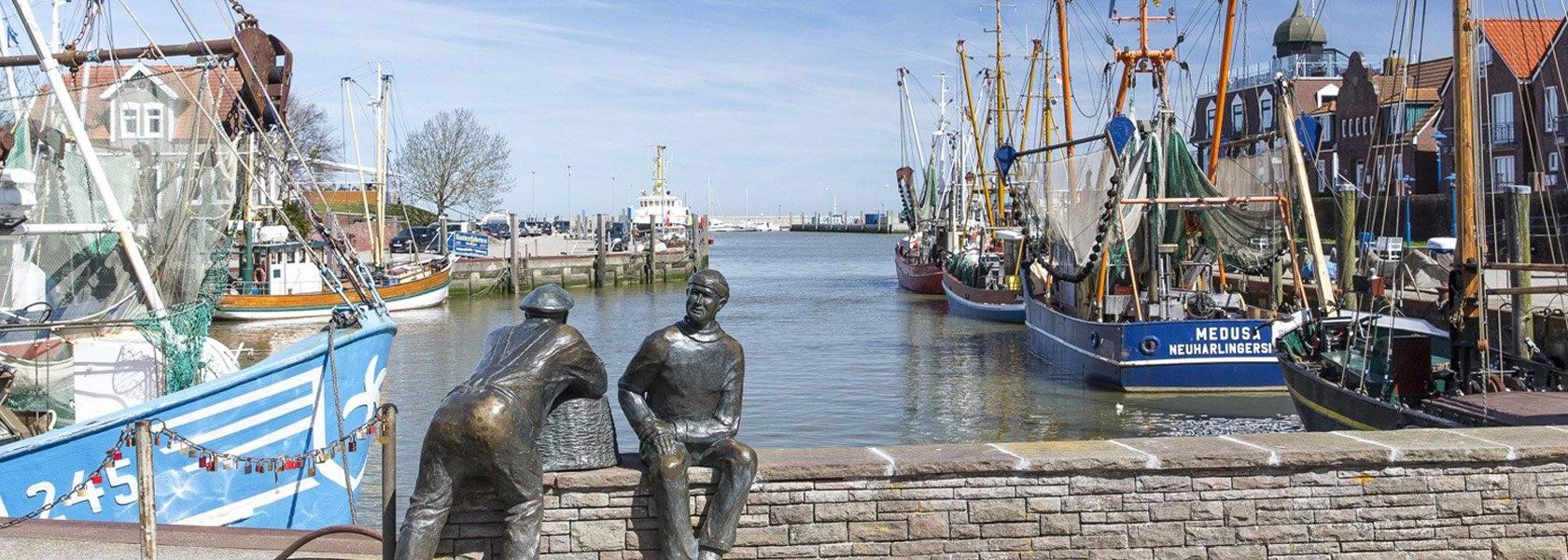 Hafen in Neuharlingersiel, © Kurverein Neuharlingersiel e.V.