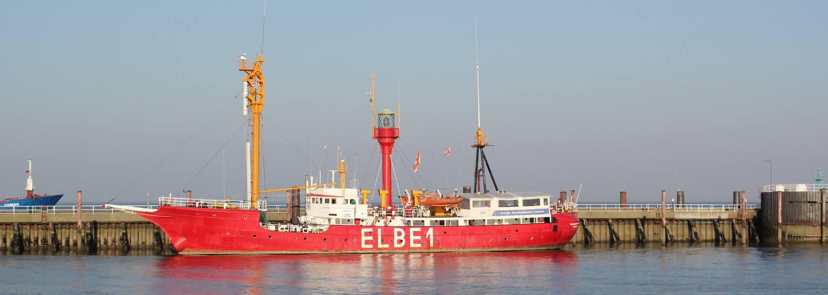 Feuerschiff Elbe 1, © Die Nordsee GmbH, Katja Benke