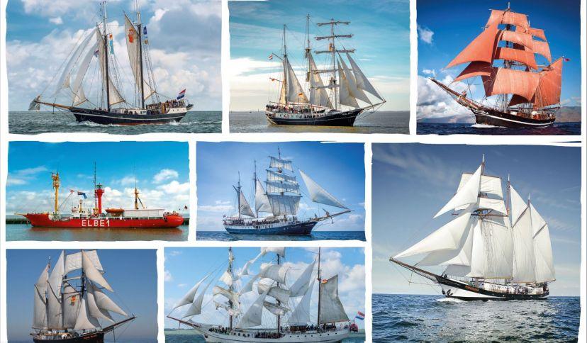 Collage Schiffe, © Wilhelmshaven Touristik & Freizeit GmbH
