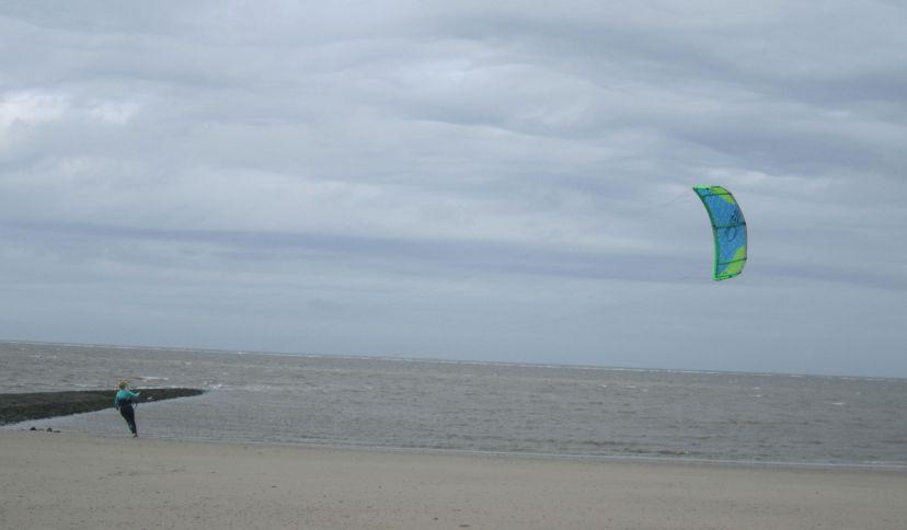 Kitesurfen Baltrum, © Die Nordsee GmbH, Jantje Olchers