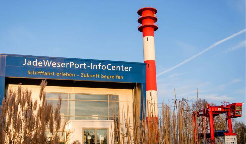 Infozentrum, © JadeWeserPort-Info Center