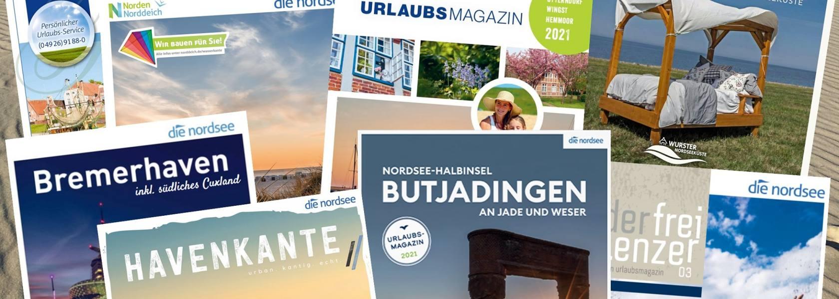 Titelbild Prospekte, © Die Nordsee GmbH